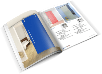 barn door brochure