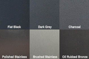 barn door hardware finishes