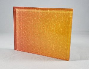 Constellation-Sample Decorative Glass Pattern