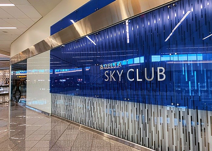 Delta Skyclub Atlanta