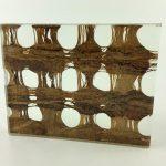 Etama Cinnamon Weave Decorative Laminated Glass