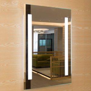 Beautiful LED Lit Mirror Inside home