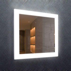Square LED Lit Mirror
