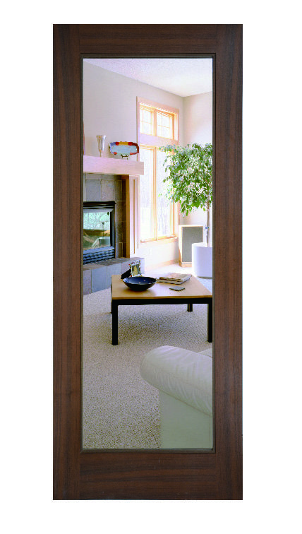Kensington Mirror Inset Barn Door Panel