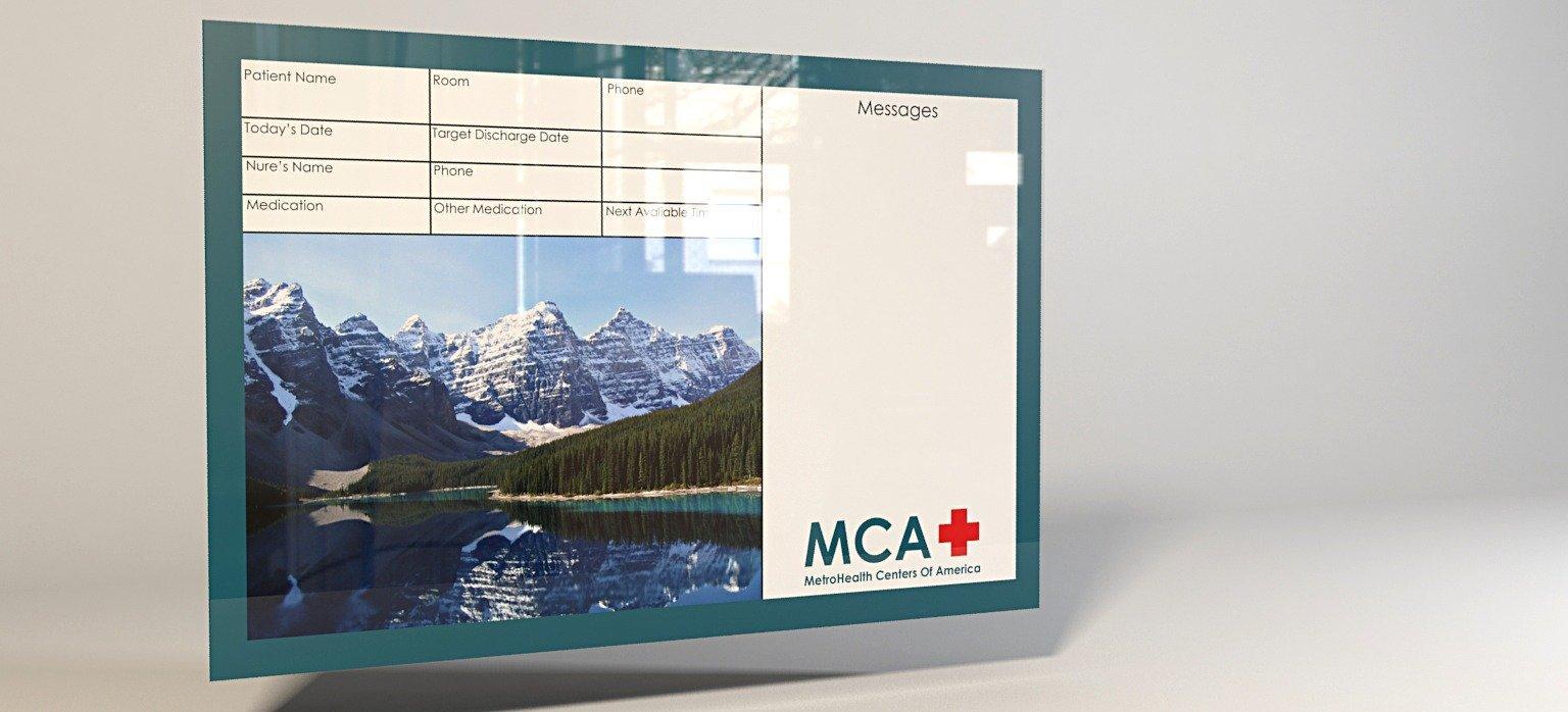 medical white board header image