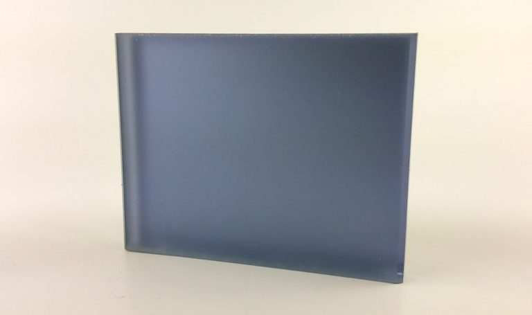 Pale Lavender Satin Mirror Laminated Glass Pattern