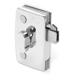Barn Door patch lock hardware