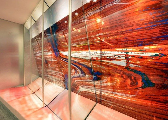 ImageVue laminated glass panels at Hartsfield Jackson Intl. Airport in Atlanta