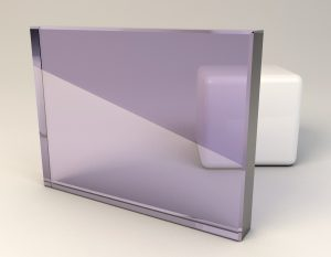 Special Pale Lavendar Laminated Glass Sample