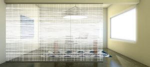 Decorative Glass Streaks-Grid-Scene