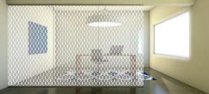 Decorative Glass Tapestry-Scene