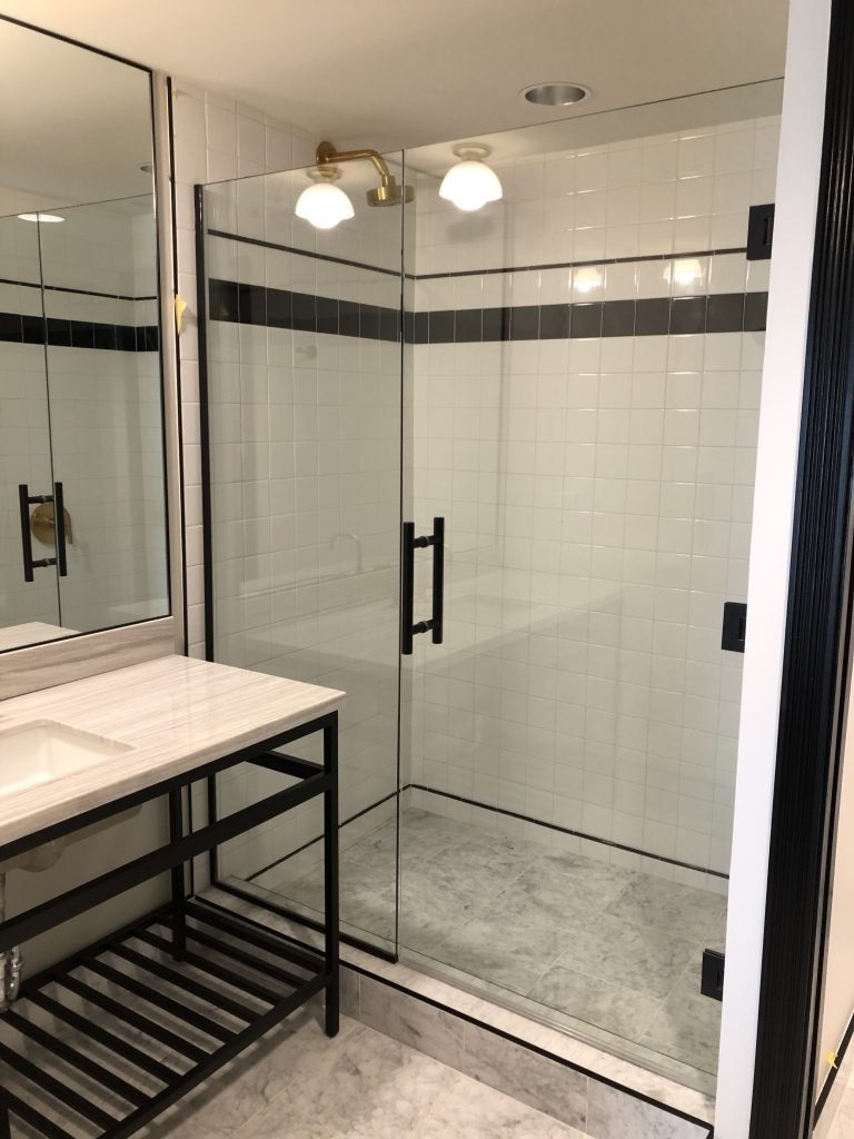 Emeline Hotel Fiji Glass Shower Doors
