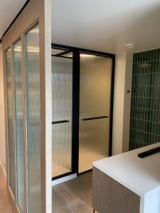 W Hotel Nashville Tahiti Reeded Glass Doors