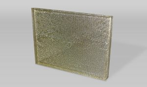 Gold Foil Couture Glass
